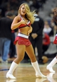 Nov 8, 2013; Washington, DC, USA; Washington Wizards dancer performs during the game against the Brooklyn Nets during the first half at the Verizon Center. Mandatory Credit: Brad Mills-USA TODAY Sports