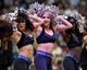 Nov 8, 2013; Minneapolis, MN, USA; Minnesota Timberwolves dancers perform during the fourth quarter against the Dallas Mavericks at Target Center. The Timberwolves defeated the Mavericks 116-108. Mandatory Credit: Brace Hemmelgarn-USA TODAY Sports