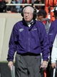 Nov 9, 2013; Lubbock, TX, USA; Kansas State Wildcats head coach Bill Snyder on the field during the game with the Texas Tech Red Raiders at Jones AT&T Stadium. Mandatory Credit: Michael C. Johnson-USA TODAY Sports