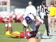 Nov 9, 2013; Ames, IA, USA; Texas Christian Horned Frogs receiver David Porter (14) is tackled by the Iowa State Cyclones cornerback Sam Richardon (4) at Jack Trice Stadium. Mandatory Credit: Reese Strickland-USA TODAY Sports