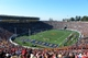 Nov 9, 2013; Berkeley, CA, USA; General view of Memorial Stadium during the NCAA football game between the Southern California Trojans and the California Golden Bears. Mandatory Credit: Kirby Lee-USA TODAY Sports