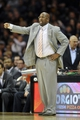 Nov 9, 2013; Cleveland, OH, USA; Cleveland Cavaliers head coach Mike Brown calls a play in the second quarter against the Philadelphia 76ers at Quicken Loans Arena. Mandatory Credit: David Richard-USA TODAY Sports