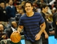 Nov 9, 2013; Milwaukee, WI, USA;  Dallas Mavericks owner Mark Cuban dribbles a ball before game against the Milwaukee Bucks at BMO Harris Bradley Center. Mandatory Credit: Benny Sieu-USA TODAY Sports
