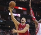 Nov 9, 2013; Houston, TX, USA; Los Angeles Clippers power forward Blake Griffin (32) attempts to score during the fourth quarter against the Houston Rockets at Toyota Center. The Clippers defeated the Rockets 107-94. Mandatory Credit: Troy Taormina-USA TODAY Sports