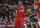 Nov 9, 2013; Houston, TX, USA; Los Angeles Clippers shooting guard Jamal Crawford (11) brings the ball up the court during the third quarter against the Houston Rockets at Toyota Center. The Clippers defeated the Rockets 107-94. Mandatory Credit: Troy Taormina-USA TODAY Sports