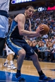Nov 2, 2013; Dallas, TX, USA; Memphis Grizzlies center Kosta Koufos (41) drives to the basket against the Dallas Mavericks during the game at the American Airlines Center. The Mavericks defeated the Grizzlies 111-99. Mandatory Credit: Jerome Miron-USA TODAY Sports