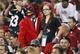 Nov 10, 2013; Phoenix, AZ, USA; Arizona Cardinals fans during the game against the Houston Texans at University of Phoenix Stadium. Mandatory Credit: Kevin Jairaj-USA TODAY Sports