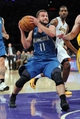Nov 10, 2013; Los Angeles, CA, USA;   Minnesota Timberwolves point guard J.J. Barea (11) in the first half of the game against the Los Angeles Lakers at Staples Center. Mandatory Credit: Jayne Kamin-Oncea-USA TODAY Sports