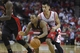 Nov 11, 2013; Houston, TX, USA; Toronto Raptors point guard Kyle Lowry (7) dribbles the ball as Houston Rockets point guard Jeremy Lin (7) defends during the fourth quarter at Toyota Center. The Rockets won 110-104. Mandatory Credit: Andrew Richardson-USA TODAY Sports