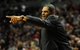 Nov 11, 2013; Portland, OR, USA; Detroit Pistons head coach Maurice Cheeks yells out to his team during the fourth quarter of the game against the Portland Trail Blazers at Moda Center. The Blazers won the game 109-103. Mandatory Credit: Steve Dykes - USA TODAY Sports