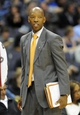 Nov 8, 2013; Washington, DC, USA; Washington Wizards assistant coach Sam Cassell watches the game against the Brooklyn Nets during the second half at the Verizon Center. The Wizards defeated the Nets 112 - 108. Mandatory Credit: Brad Mills-USA TODAY Sports