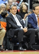 Nov 8, 2013; Washington, DC, USA; Washington Wizards owner Ted Leonsis watches the game against the Brooklyn Nets during the second half at the Verizon Center. The Wizards defeated the Nets 112 - 108. Mandatory Credit: Brad Mills-USA TODAY Sports