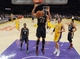 Nov 12, 2013; Los Angeles, CA, USA; New Orleans Pelicans forward Anthony Davis (23) dunks the ball against the Los Angeles Lakers at Staples Center. The Lakers defeated the Pelicans 116-95. Mandatory Credit: Kirby Lee-USA TODAY Sports