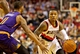Nov 13, 2013; Portland, OR, USA; Portland Trail Blazers point guard Damian Lillard (0) drives past Phoenix Suns power forward Markieff Morris (11) at the Moda Center. Mandatory Credit: Craig Mitchelldyer-USA TODAY Sports