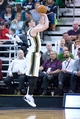 Nov 13, 2013; Salt Lake City, UT, USA; Utah Jazz shooting guard Gordon Hayward (20) shoots during the second half against the New Orleans Pelicans at EnergySolutions Arena. The Jazz won 111-105. Mandatory Credit: Russ Isabella-USA TODAY Sports