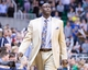 Nov 13, 2013; Salt Lake City, UT, USA; Utah Jazz head coach Tyrone Corbin during the second half against the New Orleans Pelicans at EnergySolutions Arena. The Jazz won 111-105. Mandatory Credit: Russ Isabella-USA TODAY Sports