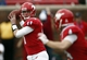 Nov 16, 2013; Dallas, TX, USA; Southern Methodist Mustangs quarterback Garrett Gilbert (11) prepares to pass against the Connecticut Huskies during the first half on an NCAA football game at Gerald J. Ford Stadium. Mandatory Credit: Jim Cowsert-USA TODAY Sports