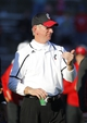 Nov 16, 2013; Piscataway, NJ, USA;  Cincinnati Bearcats head coach Tommy Tuberville during the second half against the Rutgers Scarlet Knights at High Points Solutions Stadium. Cincinnati Bearcats defeat the Rutgers Scarlet Knights 52-17. Mandatory Credit: Jim O'Connor-USA TODAY Sports