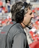 Nov 16, 2013; Tucson, AZ, USA; Washington State Cougars head coach Mike Leach stands on the sideline during the second quarter against the Arizona Wildcats at Arizona Stadium. The Cougars won 24-17. Mandatory Credit: Casey Sapio-USA TODAY Sports