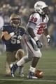 Nov 16, 2013; Annapolis, MD, USA; Navy Midshipmen linebacker DJ Sargenti (52) tackles South Alabama Jaguars running back Kendall Houston (29) at Navy Marine Corps Memorial Stadium. Mandatory Credit: Mitch Stringer-USA TODAY Sports