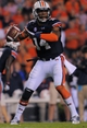 Nov 16, 2013; Auburn, AL, USA; Auburn Tigers quarterback Nick Marshall (14) looks to pass against the Georgia Bulldogs at Jordan Hare Stadium. The Tigers defeated the Bulldogs 43-38. Mandatory Credit: Shanna Lockwood-USA TODAY Sports