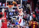 Nov 16, 2013; Washington, DC, USA; Washington Wizards center Marcin Gortat (4) dunks the ball during the game against the Cleveland Cavaliers at Verizon Center. Mandatory Credit: Evan Habeeb-USA TODAY Sports