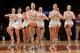 Nov 16, 2013; New York, NY, USA;  New York City Rockettes perform at the game between the New York Knicks and the Atlanta Hawks at Madison Square Garden. Mandatory Credit: Anthony Gruppuso-USA TODAY Sports