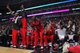 Nov 16, 2013; Chicago, IL, USA; The Chicago Bulls bench cheers for their team during the second half against the Indiana Pacers at  the United Center. Chicago won 110-94. Mandatory Credit: Dennis Wierzbicki-USA TODAY Sports