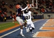 Nov 16, 2013; El Paso, TX, USA; UTEP Miners receiver Ian Hamilton (14) tries to bring in a catch over FIU Golden Panthers cornerback Randy Harvey (21) at Sun Bowl Stadium. Mandatory Credit: Ivan Pierre Aguirre-USA TODAY Sports