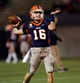 Nov 16, 2013; El Paso, TX, USA; UTEP Miners quarterback Mack Leftwich (16) warms up after halftime to face the FIU Golden Panthers at Sun Bowl Stadium. Mandatory Credit: Ivan Pierre Aguirre-USA TODAY Sports