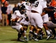 Nov 16, 2013; El Paso, TX, USA;  FIU Golden Panthers running back Lamarq Caldwell (36) runs the ball against the UTEP Miners at Sun Bowl Stadium. Mandatory Credit: Ivan Pierre Aguirre-USA TODAY Sports