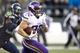 Nov 17, 2013; Seattle, WA, USA; Minnesota Vikings running back Toby Gerhart (32) rushes against the Seattle Seahawks during the fourth quarter at CenturyLink Field. Mandatory Credit: Joe Nicholson-USA TODAY Sports