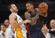 November 17, 2013; Los Angeles, CA, USA; Detroit Pistons point guard Brandon Jennings (7) controls the ball against the defense of Los Angeles Lakers point guard Jordan Farmar (1) during the second half at Staples Center. Mandatory Credit: Gary A. Vasquez-USA TODAY Sports