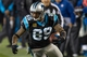 Nov 18, 2013; Charlotte, NC, USA; Carolina Panthers wide receiver Steve Smith (89) runs after catching a pass during the fourth quarter against the New England Patriots at Bank of America Stadium. The Panthers defeated the Patriots 24-20. Mandatory Credit: Jeremy Brevard-USA TODAY Sports