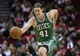 Nov 19, 2013; Houston, TX, USA; Boston Celtics center Kelly Olynyk (41) advances the ball on a fast break during the fourth quarter against the Houston Rockets at Toyota Center. The Rockets defeated the Celtics 109-85. Mandatory Credit: Troy Taormina-USA TODAY Sports
