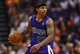 Nov 20, 2013; Phoenix, AZ, USA; Sacramento Kings guard Isaiah Thomas (22) dribbles the ball up the court against the Phoenix Suns in the first half at US Airways Center. Mandatory Credit: Jennifer Stewart-USA TODAY Sports