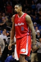Nov 6, 2013; Orlando, FL, USA; Los Angeles Clippers center DeAndre Jordan (6) reacts against the Orlando Magic during the second half at Amway Center. Orlando Magic defeated the Los Angeles Clippers 98-90. Mandatory Credit: Kim Klement-USA TODAY Sports