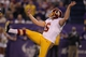 Nov 7, 2013; Minneapolis, MN, USA; Washington Redskins punter Sav Rocca (6) against the Minnesota Vikings at Mall of America Field at H.H.H. Metrodome. The Vikings defeated the Redskins 34-27. Mandatory Credit: Brace Hemmelgarn-USA TODAY Sports