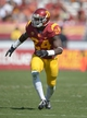 Sep 21, 2013; Los Angeles, CA, USA; Southern California Trojans safety Demetrius Wright (24) during the game against the Utah State Aggies at the Los Angeles Memorial Coliseum. USC defeated Utah State 17-14. Mandatory Credit: Kirby Lee-USA TODAY Sports