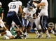 Nov 21, 2013; Birmingham, AL, USA;  Rice Owls running back Jawon Davis (3) carries the ball against the UAB Blazers at Legion Field. Mandatory Credit: Marvin Gentry-USA TODAY Sports