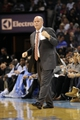 Nov 22, 2013; Charlotte, NC, USA; Charlotte Bobcats head coach Steve Clifford during the first half of the game against the Phoenix Suns at Time Warner Cable Arena. Mandatory Credit: Sam Sharpe-USA TODAY Sports