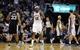 Nov 22, 2013; Memphis, TN, USA; Memphis Grizzlies power forward Zach Randolph (50) celebrates after a basket against the San Antonio Spurs during the third quarter at FedExForum. Mandatory Credit: Justin Ford-USA TODAY Sports