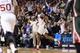 Nov 22, 2013; Philadelphia, PA, USA; Philadelphia 76ers forward Hollis Thompson (31) celebrates making a shot during overtime against the Milwaukee Bucks at Wells Fargo Center. The Sixers defeated the Bucks 115-107 in overtime. Mandatory Credit: Howard Smith-USA TODAY Sports