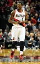 Nov 22, 2013; Portland, OR, USA; Portland Trail Blazers shooting guard Wesley Matthews (2) celebrates after hitting a shot during the fourth quarter of the game against the Chicago Bulls at the Moda Center. Mandatory Credit: Steve Dykes-USA TODAY Sports