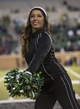 Nov 23, 2013; Denton, TX, USA; The North Texas Mean Green cheerleaders cheers for their team during the game against the UTSA Roadrunners at Apogee Stadium. The Roadrunners defeated the Mean Green 21-13. Mandatory Credit: Jerome Miron-USA TODAY Sports