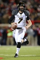 Nov 23, 2013; Oxford, MS, USA; Missouri Tigers quarterback Maty Mauk (7) advances the ball before a pass during the game against the Mississippi Rebels at Vaught-Hemingway Stadium. Mandatory Credit: Spruce Derden-USA TODAY Sports