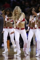 Nov 23, 2013; Houston, TX, USA; the Houston Rockets cheerleaders perform during the fourth quarter against the Minnesota Timberwolves at Toyota Center. Mandatory Credit: Andrew Richardson-USA TODAY Sports