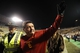 Nov 23, 2013; Boulder, CO, USA; Southern California Trojans interim head coach Ed Orgeron reacts following the win over the Colorado Buffaloes at Folsom Field. The Trojans defeated the Buffaloes 47-29. Mandatory Credit: Ron Chenoy-USA TODAY Sports