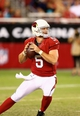 Aug. 24, 2013; Glendale, AZ, USA: Arizona Cardinals quarterback Drew Stanton against the San Diego Chargers during a preseason game at University of Phoenix Stadium. Mandatory Credit: Mark J. Rebilas-USA TODAY Sports