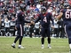 Nov 24, 2013; Houston, TX, USA; Houston Texans kicker Randy Bullock (4) is congratulated by punter Shane Lechler (9) after making a field goal during the third quarter at Reliant Stadium. The Jaguars defeated the Texans 13-6. Mandatory Credit: Troy Taormina-USA TODAY Sports